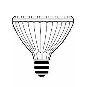 Philips Lamps 50PAR30S/IRC+/WFL40 120V 15/1