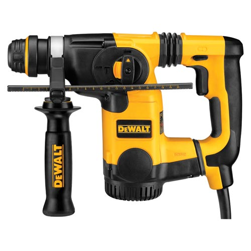 DeWALT® D25301D Cordless Dust Extractor Telescope, For Use With DeWALT® Corded and Cordless SDS Rotary Hammer, Black