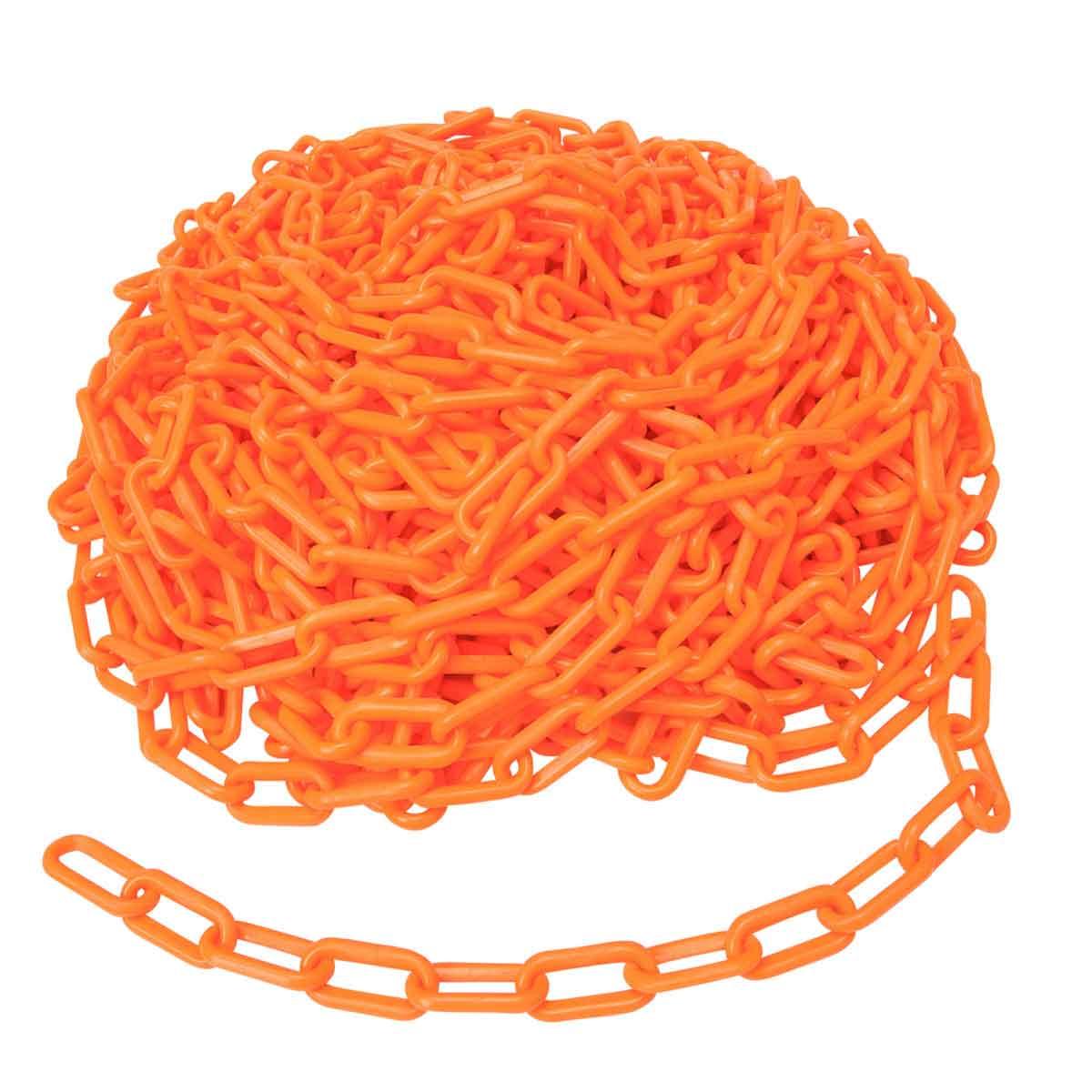 Brady® BradyLink® 78238 Warning Chain, 2 in, 100 ft L, Yellow, Polyethylene