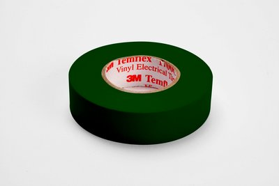 Temflex™ 054007-50649 1700C General Grade Electrical Tape, 66 ft L x 3/4 in W, 7 mil THK, Vinyl, Rubber Adhesive, PVC Backing, Brown