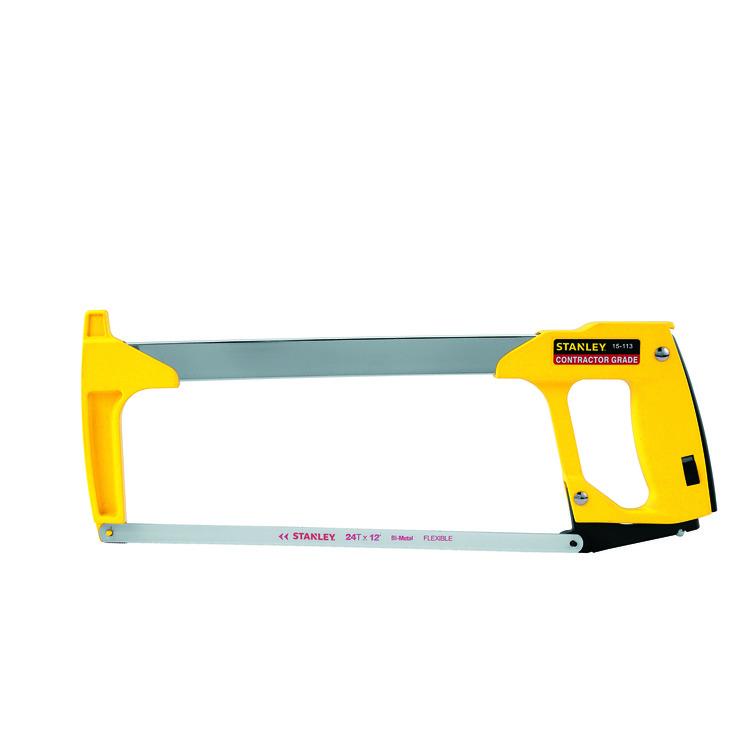 Lenox® 12131 High Tension Lightweight Hacksaw, 12 in L Bi-Metal Blade, 45 deg, 4 in D Throat