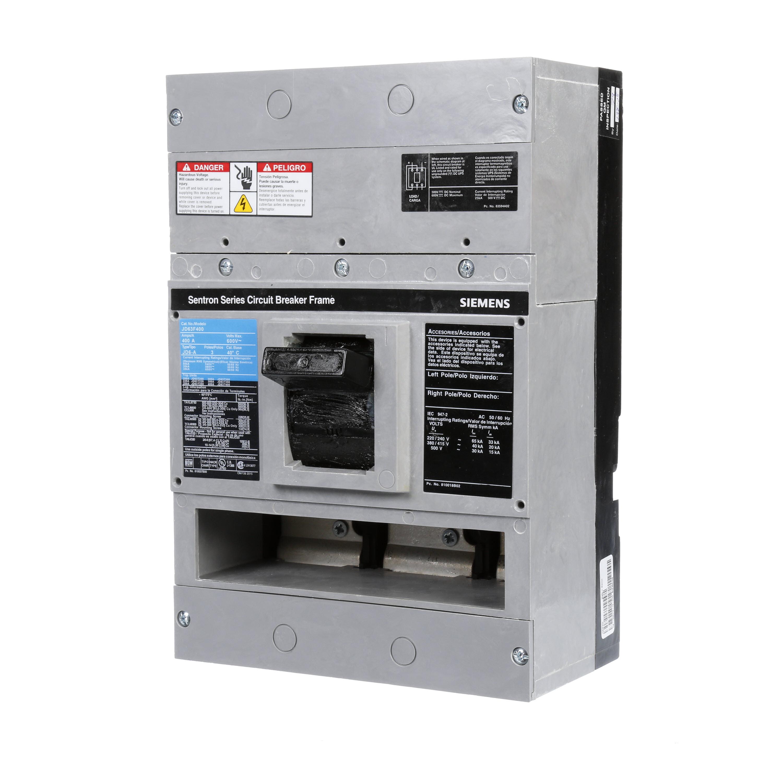 Siemens BQ1B020 Type BQ Low Voltage Molded Case Circuit Breaker, 120 VAC, 20 A, 10 kA Interrupt, 1 Poles, Thermal/Magnetic Trip