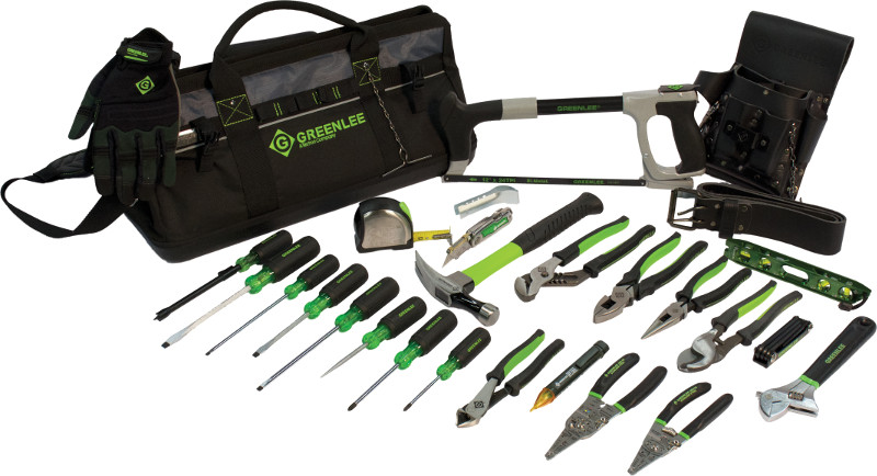 2-Piece Greenlee Textron Greenlee 0159-42 Hand Tool Kit