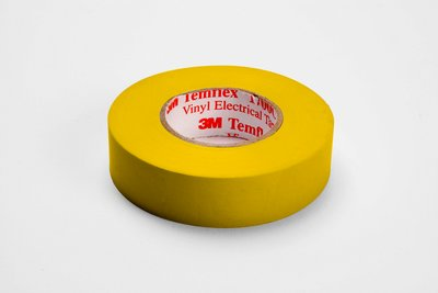 Temflex™ 054007-50652 1700C General Grade Electrical Tape, 66 ft L x 3/4 in W, 7 mil THK, Vinyl, Rubber Adhesive, PVC Backing, Orange