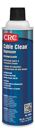 CRC® 02020 Lectra Clean® Chlorinated Heavy Duty Non-Flammable Electrical Parts Degreaser, 1 gal Can, Irritating at High Concentration Odor/Scent, Clear, Liquid Form