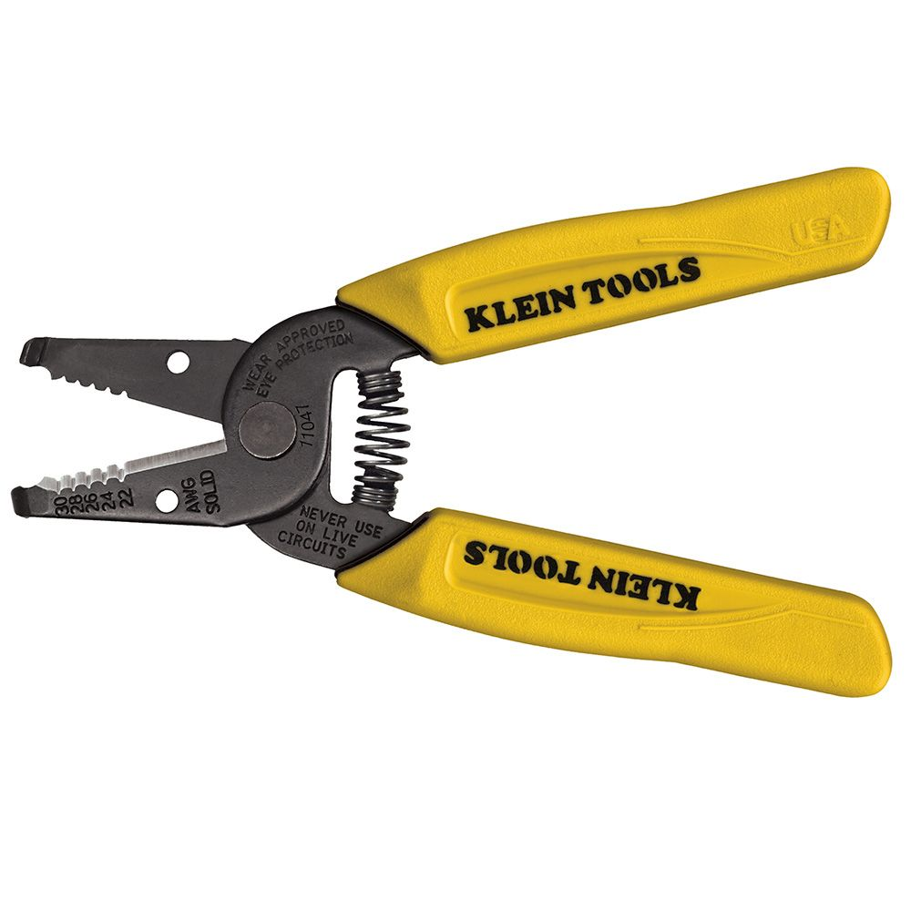 Klein® 11046 Wire Stripper/Cutter, 26 to 16 AWG Cable/Wire