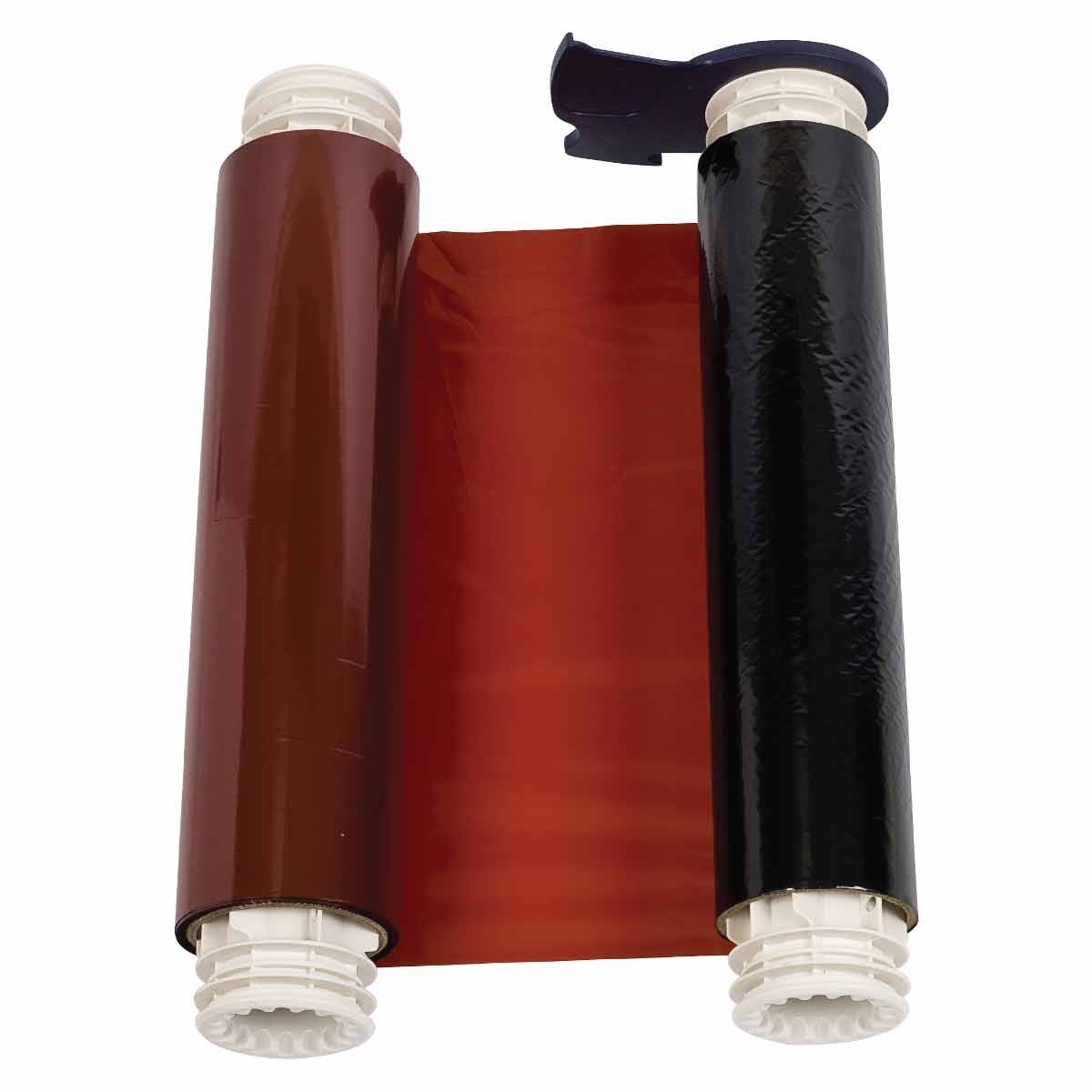 Brady® 13513 R10000 1-Color Industrial Grade Printer Ribbon, 200 ft L x 6-1/4 in W, Resin, White
