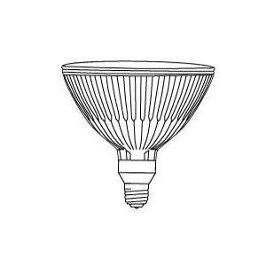 Philips Lamps 50PAR38/IRC+/FL25 120V 12PK