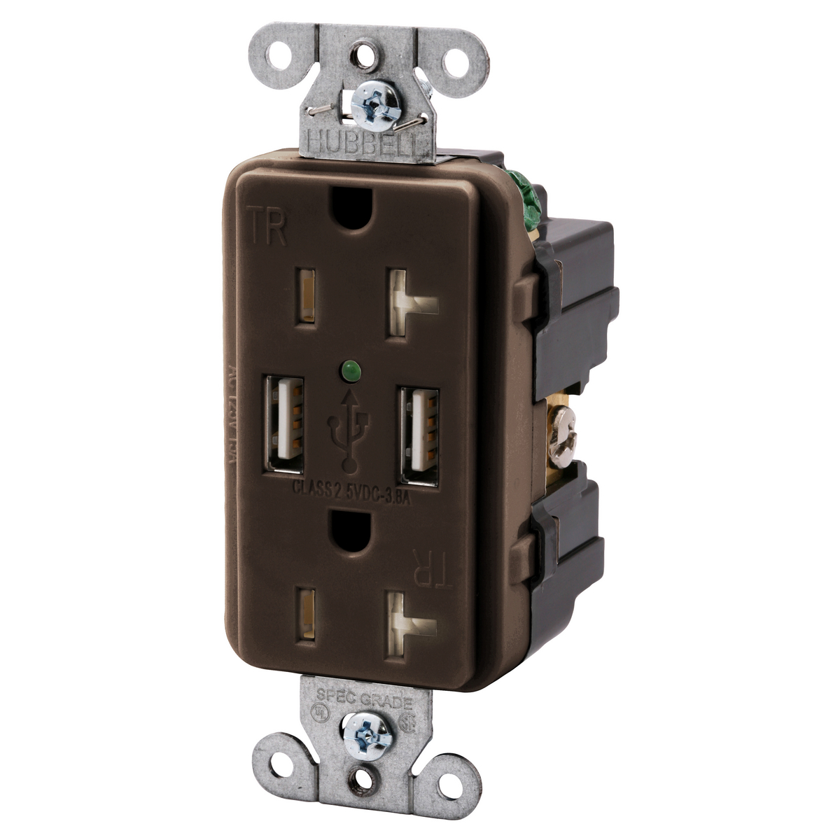 Wiring Device-KellemsUSB20X2