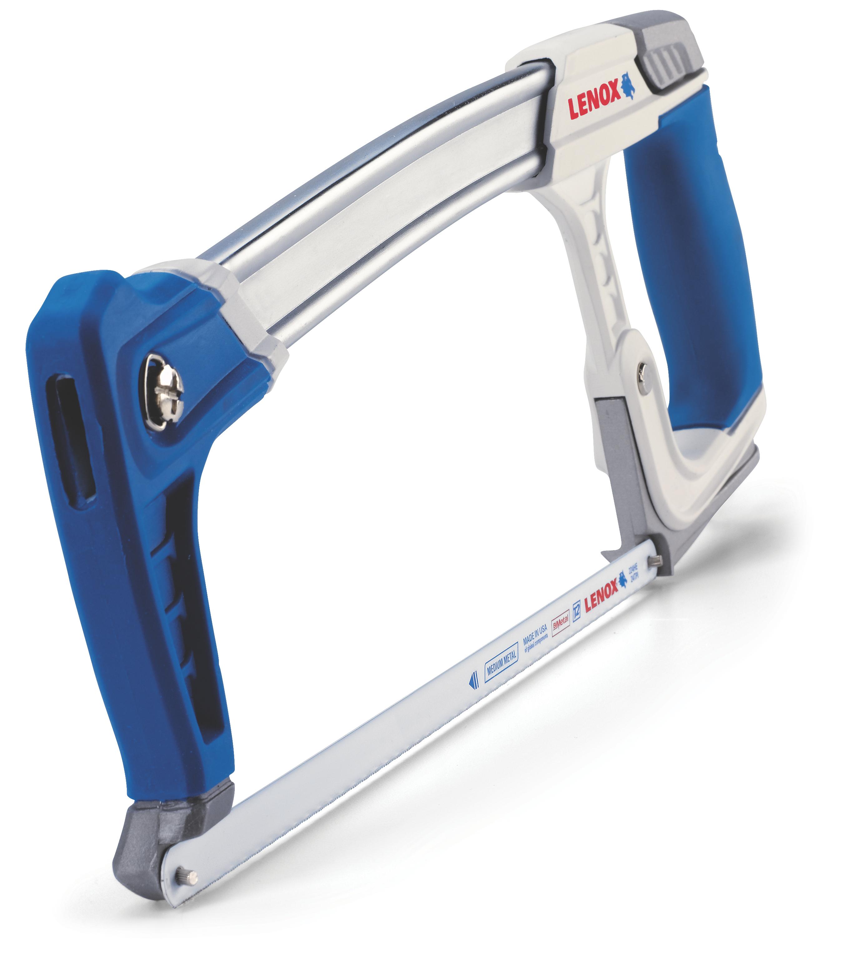 Lenox® 10771FLK1 Lockable Utility Knife, 1-1/8 in W Trapezoid Blade, Bi-Metal Blade, 1 Blade Included