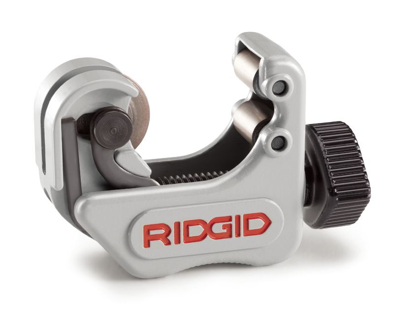 RIDGID® 40617 101 Close Quarter Midget Tubing Cutter With E-3469 Standard Wheel, 1/4 to 1-1/8 in, Ergonomic Handle