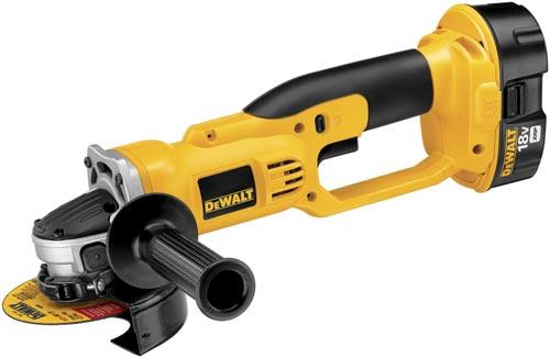 DeWALT® XRP™ DC411B Cordless Cut-Off Tool, 4-1/2 in Dia Wheel, 5/8-11 Arbor/Shank, 18 VDC, NiCd Battery, Trigger Switch