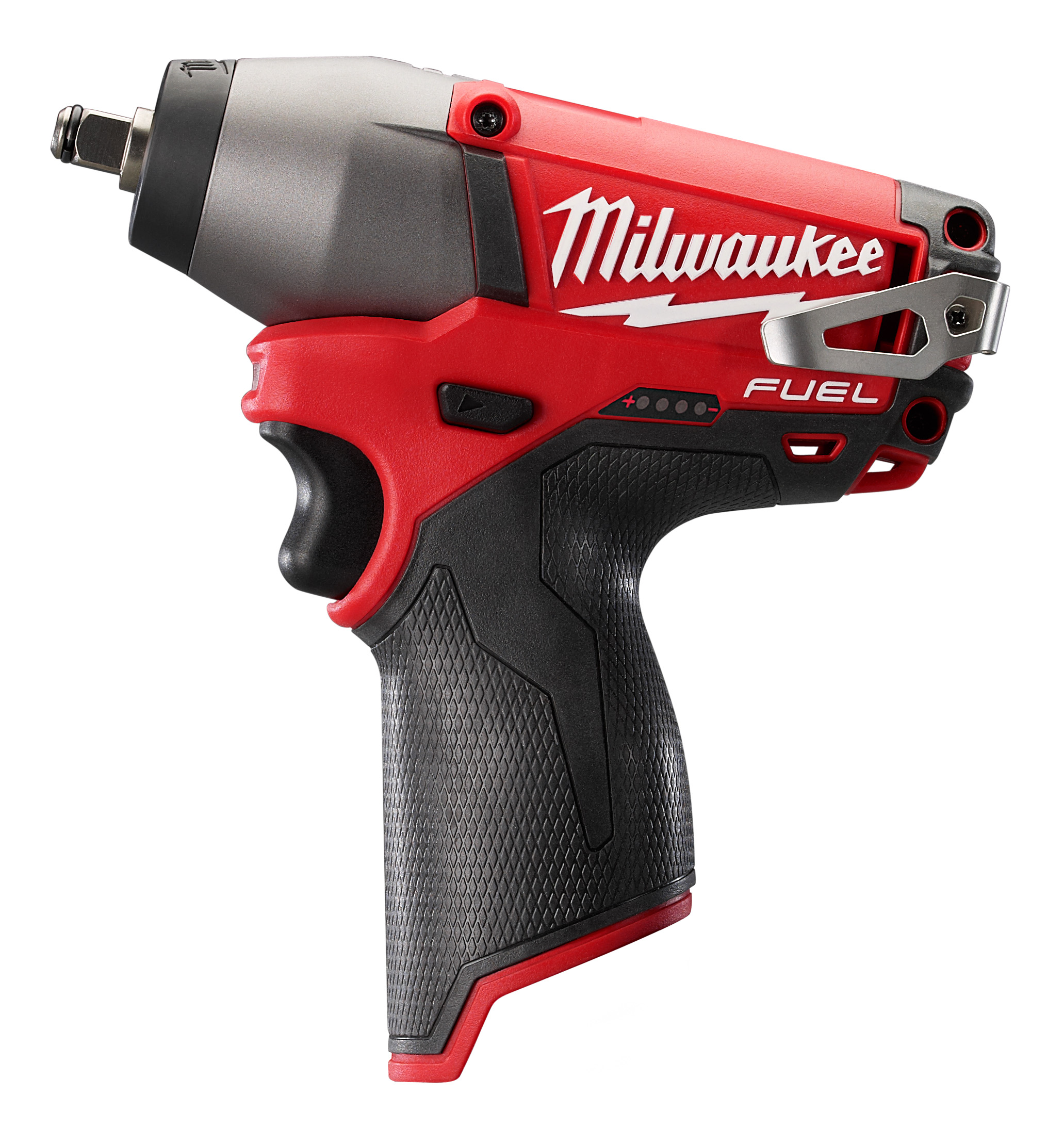 Milwaukee® M12™ 2450-22 Lightweight Cordless Impact Driver Kit, 1/4 in Hex Drive, 0 to 3000 ipm, 850 in-lb Torque, 12 V, 6-1/2 in OAL