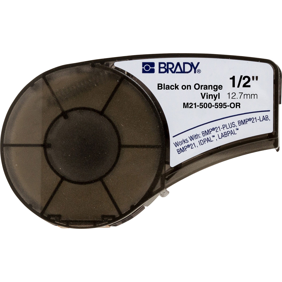 Brady® Prinzing® T218 Scissor Action Standard Lockout Hasp, 6 Padlocks, 0.47 in Dia Max Padlock Shackle, Steel