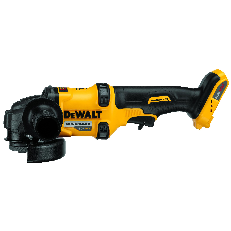 DeWALT® DC411KA Cordless Heavy Duty Spindle Lock Cut-Off Tool Kit, 4-1/2 in Dia Wheel, 5/8-11 Arbor/Shank, 18 VDC, NiCd Battery, 2 Batteries, Trigger Switch