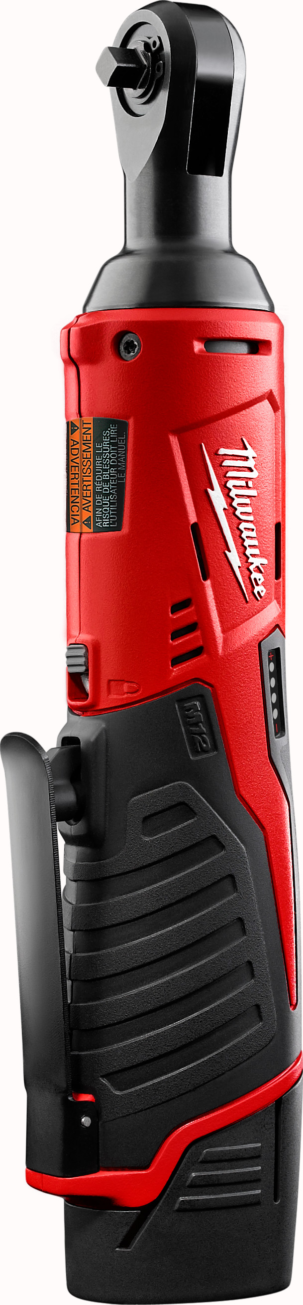 Milwaukee® 0799-20 M28™ Heavy Duty Cordless Impact Wrench, 7/16 in Hex Drive, 0 to 2450 bpm, 325 ft-lb Torque, 28 VDC, 11-3/4 in OAL, Tool Only