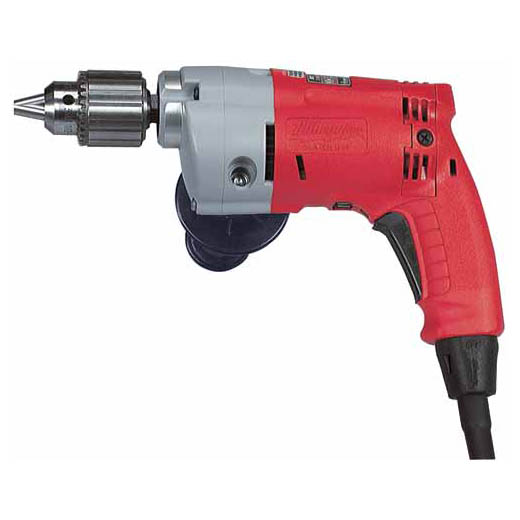 Milwaukee® 0200-20 Grounded Heavy Duty Electric Drill, 3/8 in Keyed Chuck, 120 VAC, 0 to 1200 rpm Speed, 12 in OAL