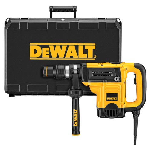 DeWALT® D25323K Rotary Hammer Kit, 1 in Keyless/Spline/SDS Plus® Chuck, 0 to 4300 bpm, 0 to 1150 rpm No-Load, 12.4 in OAL