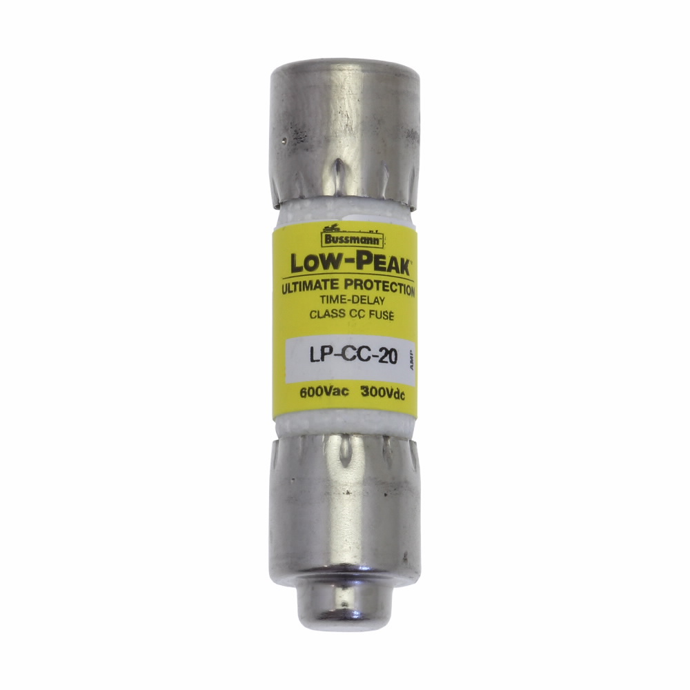Bussmann Limitron™ KTK-R-10 Current Limiting Fast Acting Fuse, 10 A, 600 V, 200 kAIC Interrupt, CC Class, Cylindrical Body
