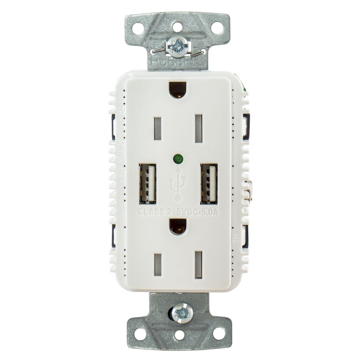 Wiring Device-Kellems USB15A5W