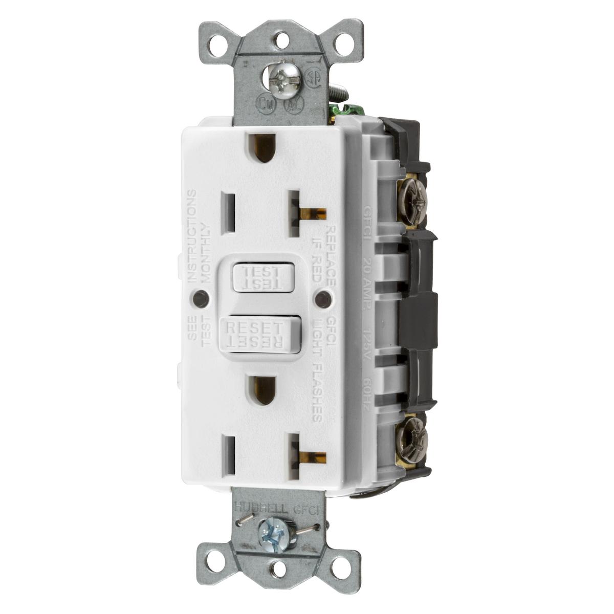 Wiring Device-KellemsGFRST20W