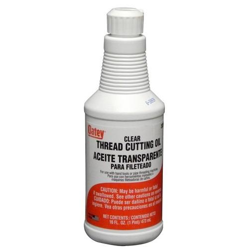 Oatey® 30201 Thread Cutting Oil, 32 oz Bottle, Liquid, Amber, Slight Hydrocarbon