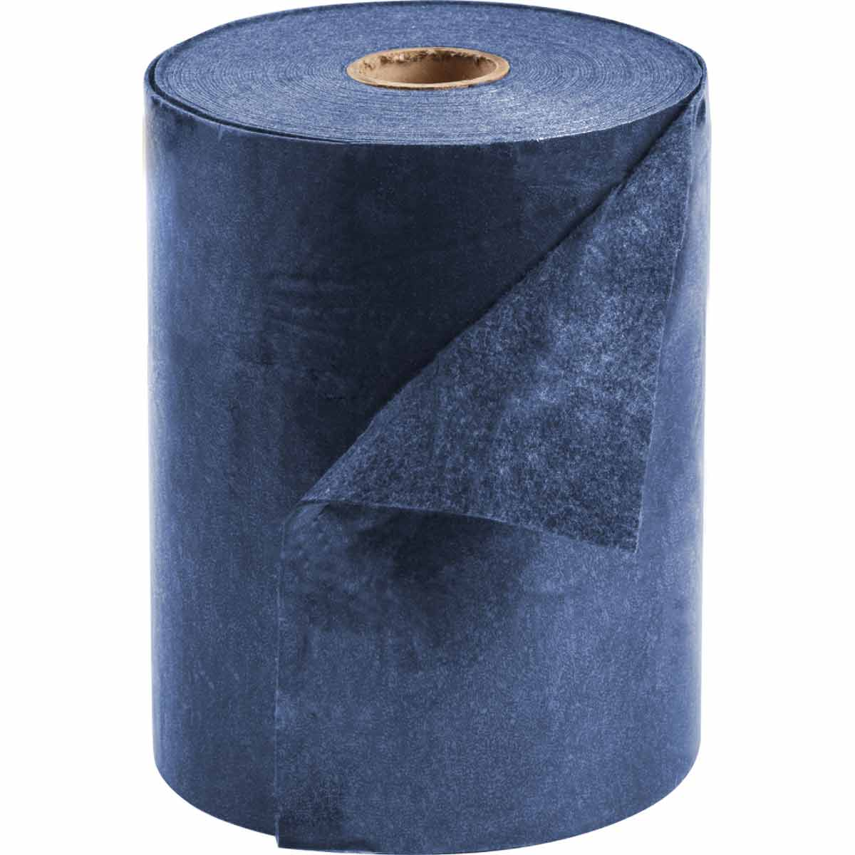SPC® AD15100 Barrier Backed Mediumweight Adhesive Absorbent Mat, 100 ft L x 15 in W, 11 gal Absorption, Polypropylene