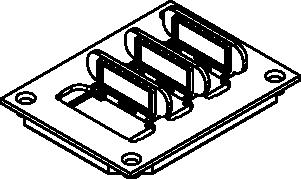 Wiremold® 829PFL-BRN