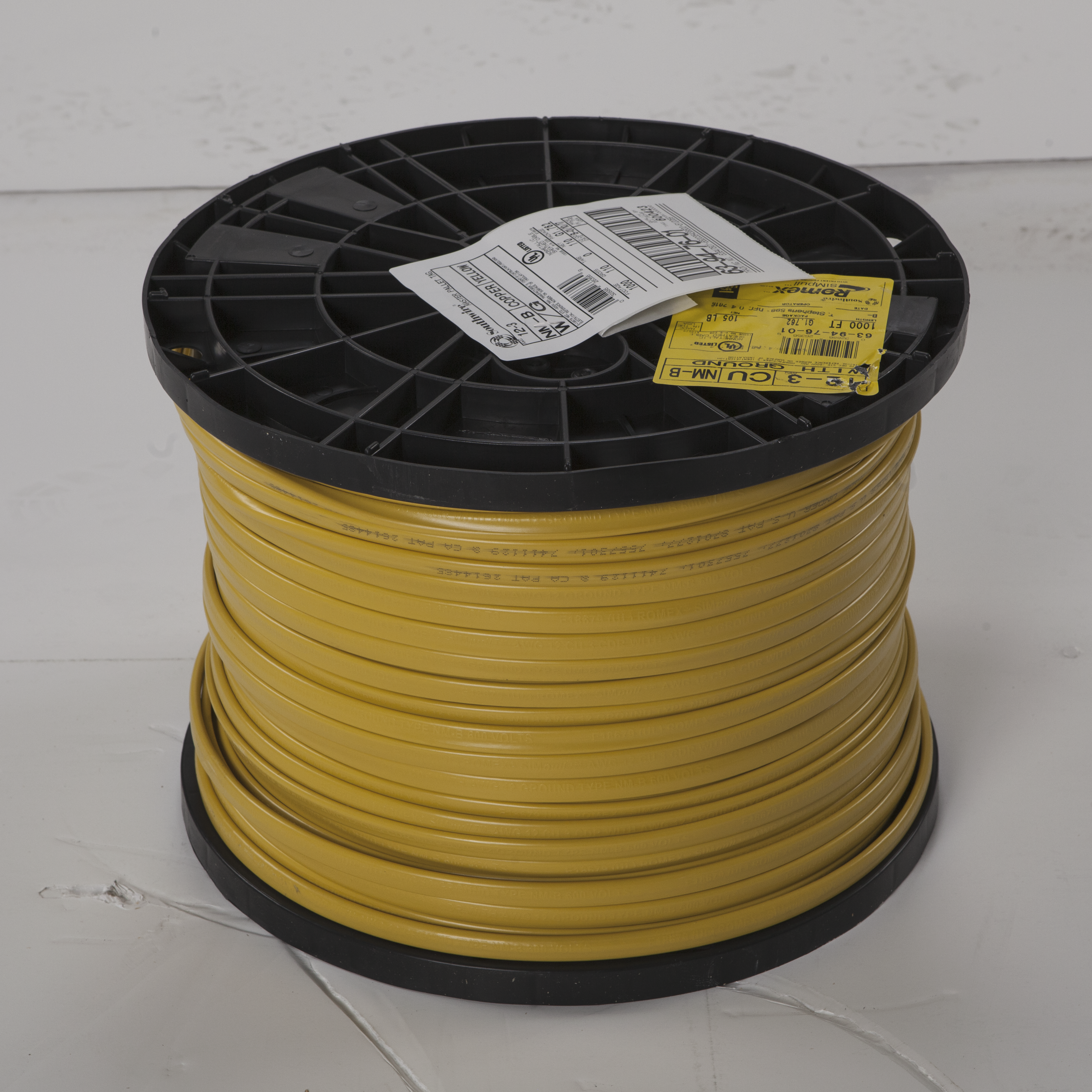 Wire & Cable CUNMB 12/3 W/GRD 1000' REEL