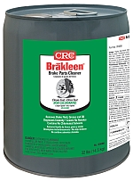 CRC® 05085 Brakleen® Extremely Flammable Non-Chlorinated Brake Parts Cleaner, 1 gal Bottle, Liquid, Clear, Solvent