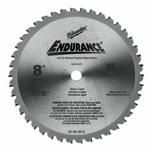 Milwaukee® 48-40-4510 Circular Saw Blade, 14 in Dia x 0.071 in THK, 1 in Arbor, Hardened Steel Blade, 90 Teeth