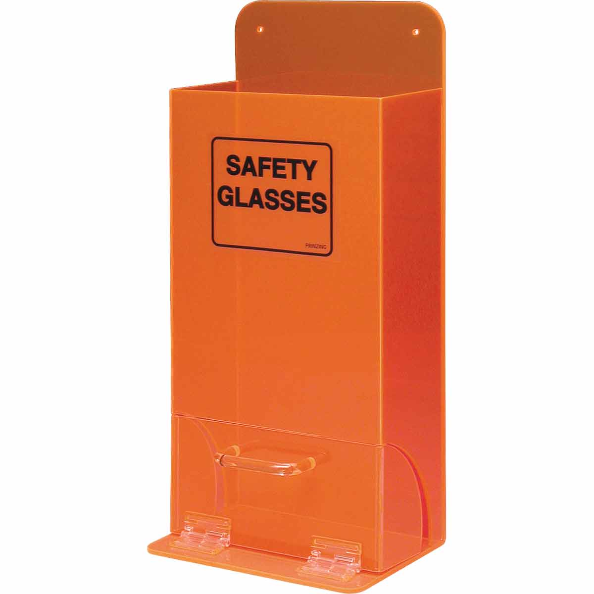 Brady® MVSD 1-Compartment Deluxe Unfilled Visitor Spec Dispenser, 20 to 25 Glasses Capacity, 18 in H x 8 in W x 4 in D, Acrylic, Wall Mount