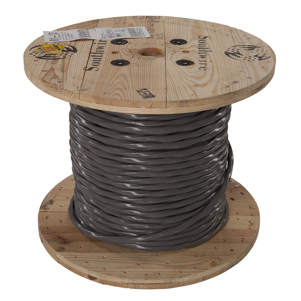 Wire & Cable CUSERSTR 2-2-2-4 BLK 500'