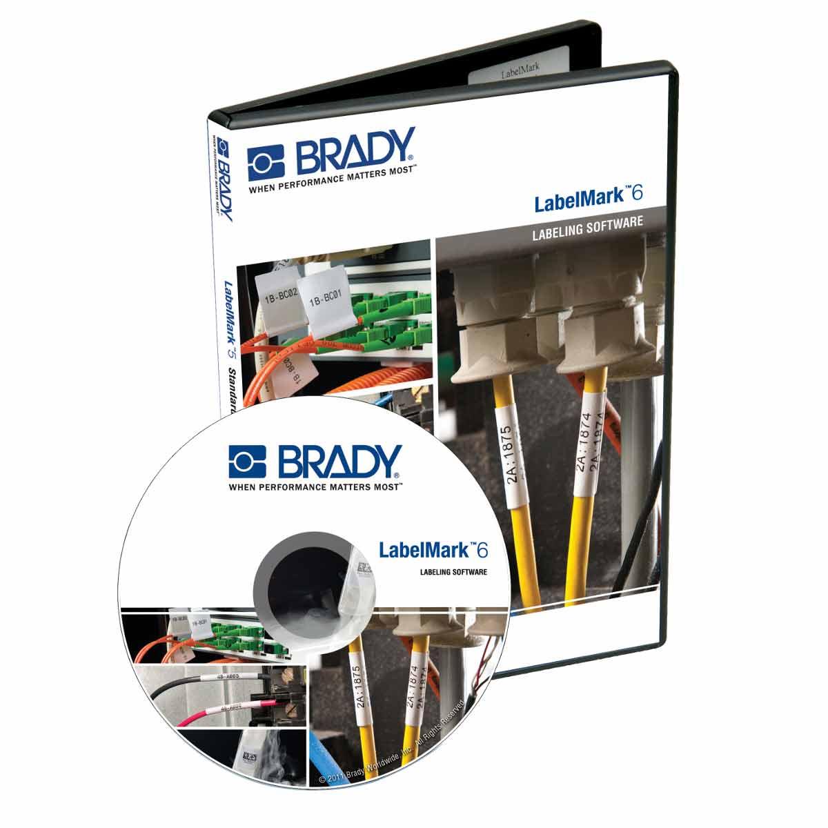 Brady® BWS-DA-CD Data Automation, CD Media, Operating System Compatibility: Brady® BBP11, BBP12 and BBP30 Printers, Windows 10, Windows 7 Professional, Ultimate, Enterprise, Windows 8.1 Professional, Enterprise, 1.5 Ghz Processor, 2 GB RAM