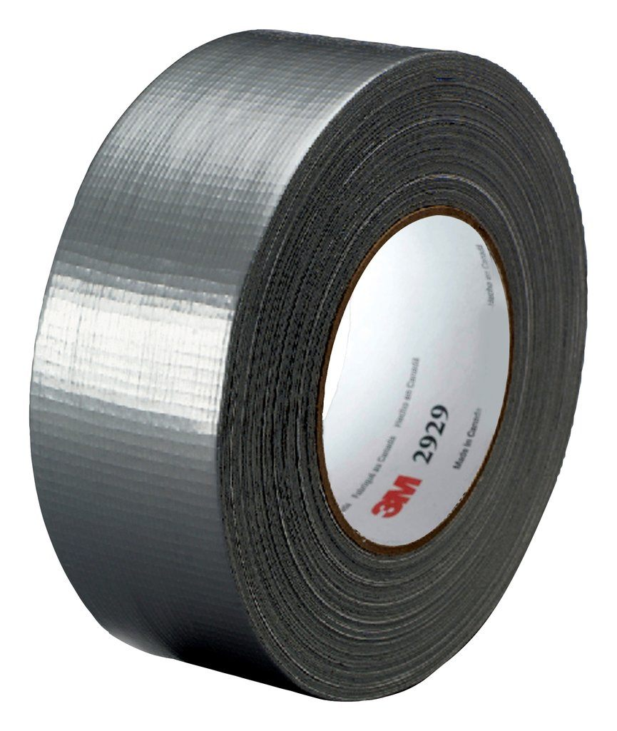 3M™ 051131-06976 3900 Multi-Purpose Duct Tape, 60 yd L x 1.88 in W, 7.6 to 8.1 mil THK, Rubber Adhesive, Polyethylene Backing, Silver