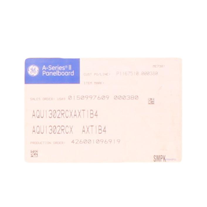 GE AQU1302RCXAXT1B4