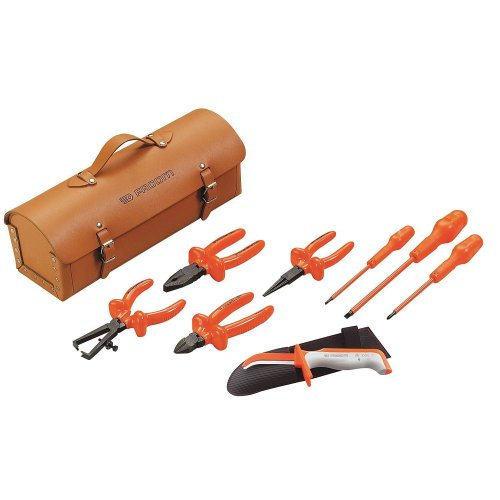 Klein® 33527 General Purpose Dual Insulated Tool Kit, 22 Pieces, Plastic
