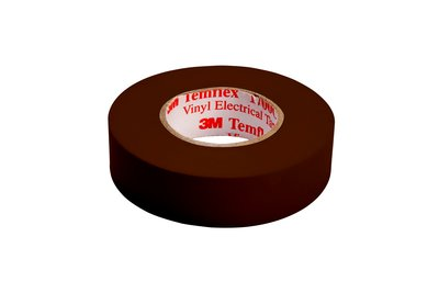 Temflex™ 054007-50648 1700C Electrical Tape, 66 ft L x 3/4 in W, 7 mil THK, Vinyl, Rubber Adhesive, PVC Backing, Blue