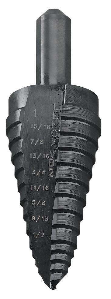 Lenox 30881-VB1 Vari-Bit 1//8-Inch to 1//2-Inch Step Drill Bit with 1//4-Inch Shank