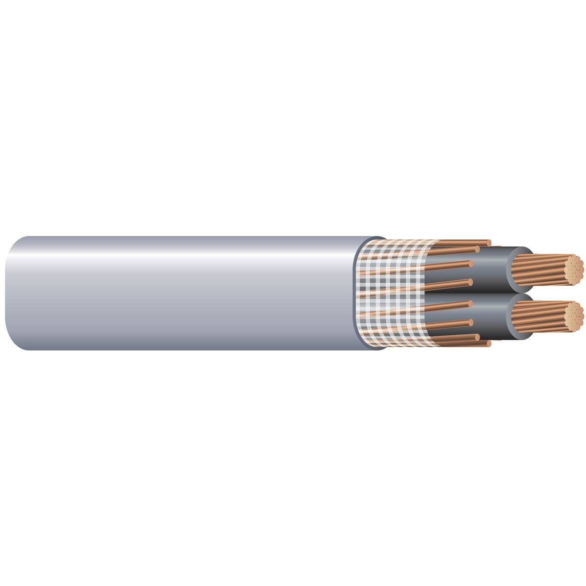 Wire & Cable CUSEUSTR 6/3 GRY 150'