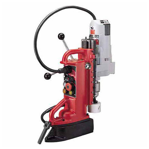Milwaukee® 4204-1 Adjustable Position Electromagnetic Drill Press, 1/2 in Chuck, 1-1/4 hp, 1-1/4 in Drill to Center From Base, 600 rpm Spindle Speed, 120 VAC