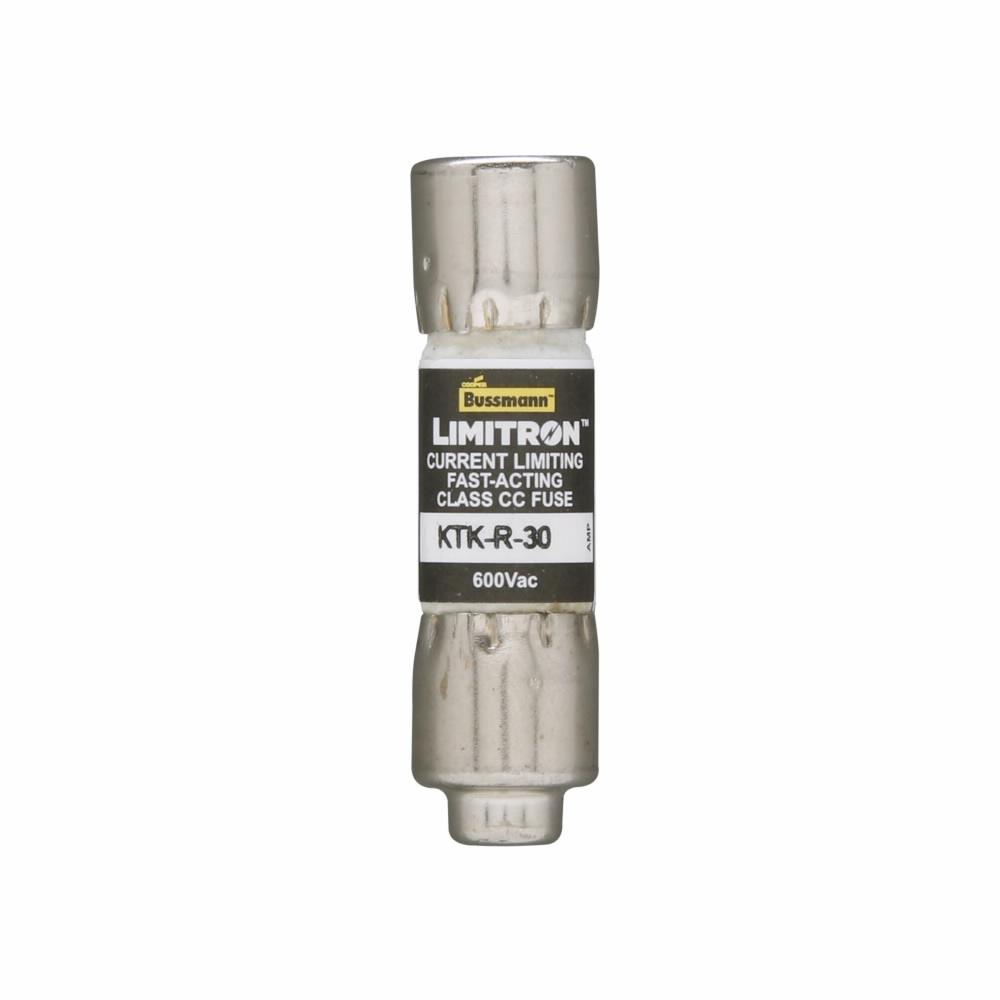 Littelfuse® POWR-GARD® KLKR.100 KLKR High Speed Fast Acting Fuse, 0.1 A, 600 VAC/300 VDC, 200/20 kA Interrupt, CC Class, Cartridge Body