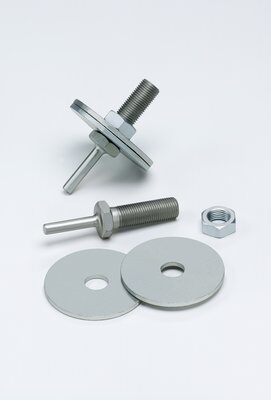 3M™ 04020 Mini Regular Unitized Wheel Mandrel, 1/4 in Shank, 2-7/8 in OAL, For Use With Scotch-Brite™ Strip