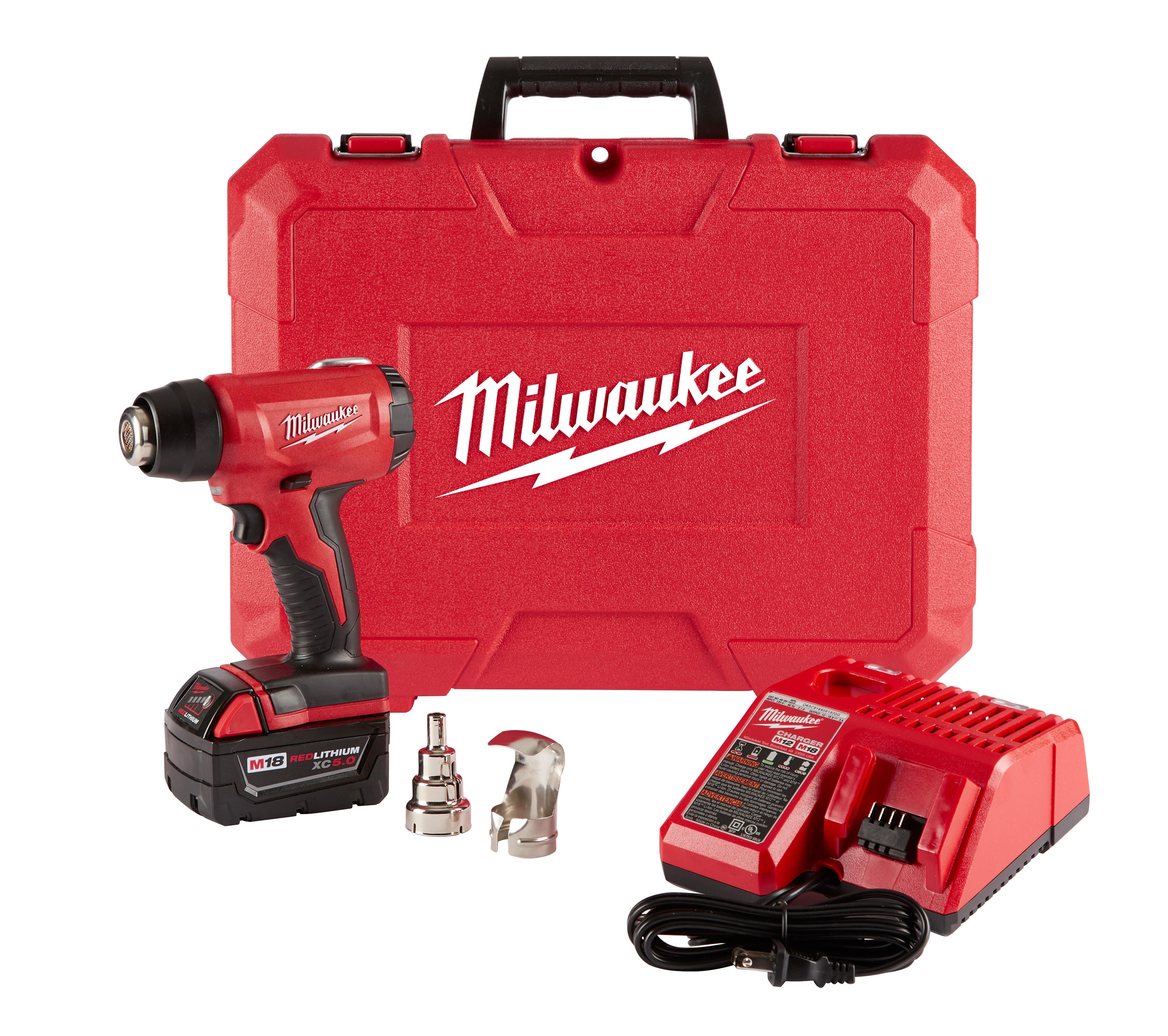 Milwaukee® 2688-20 Compact Cordless Heat Gun, 18 VDC REDLITHIUM™ Battery
