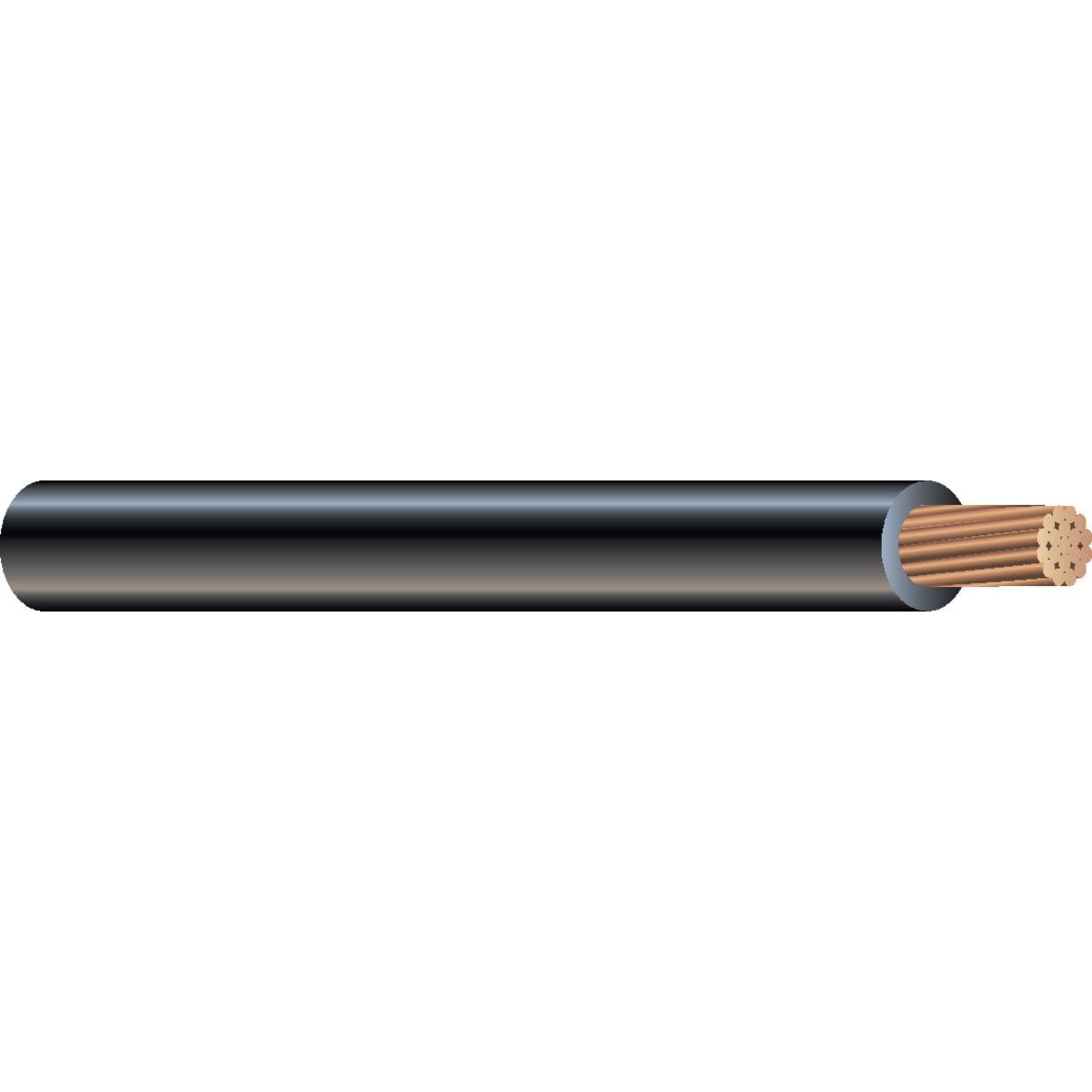 Wire & Cable CUUSESTR 8 BLK 1000'