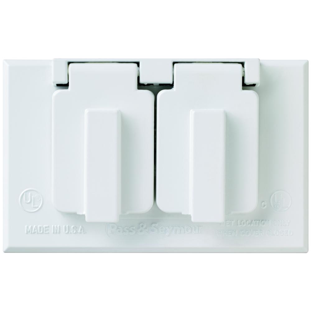 Legrand-Pass /& Seymour CA1GS Pass /& Seymour CA1G-WEATHER Proof Cover 1G Switch Gray