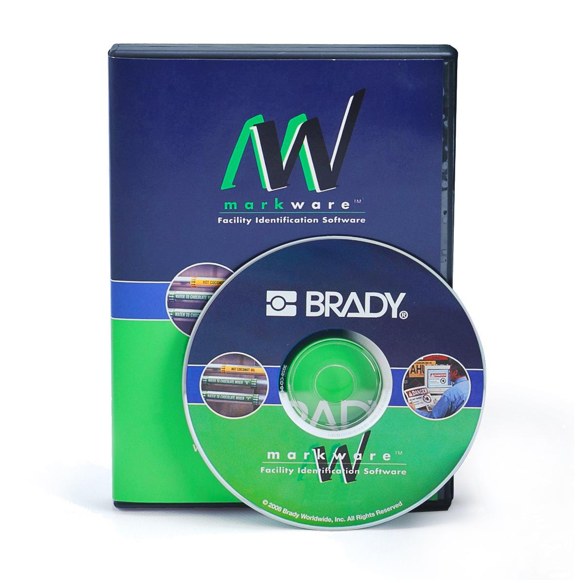 Brady® 13597 R10000 1-Color Industrial Grade Printer Ribbon, 200 ft L x 6-1/4 in W, Resin, Green
