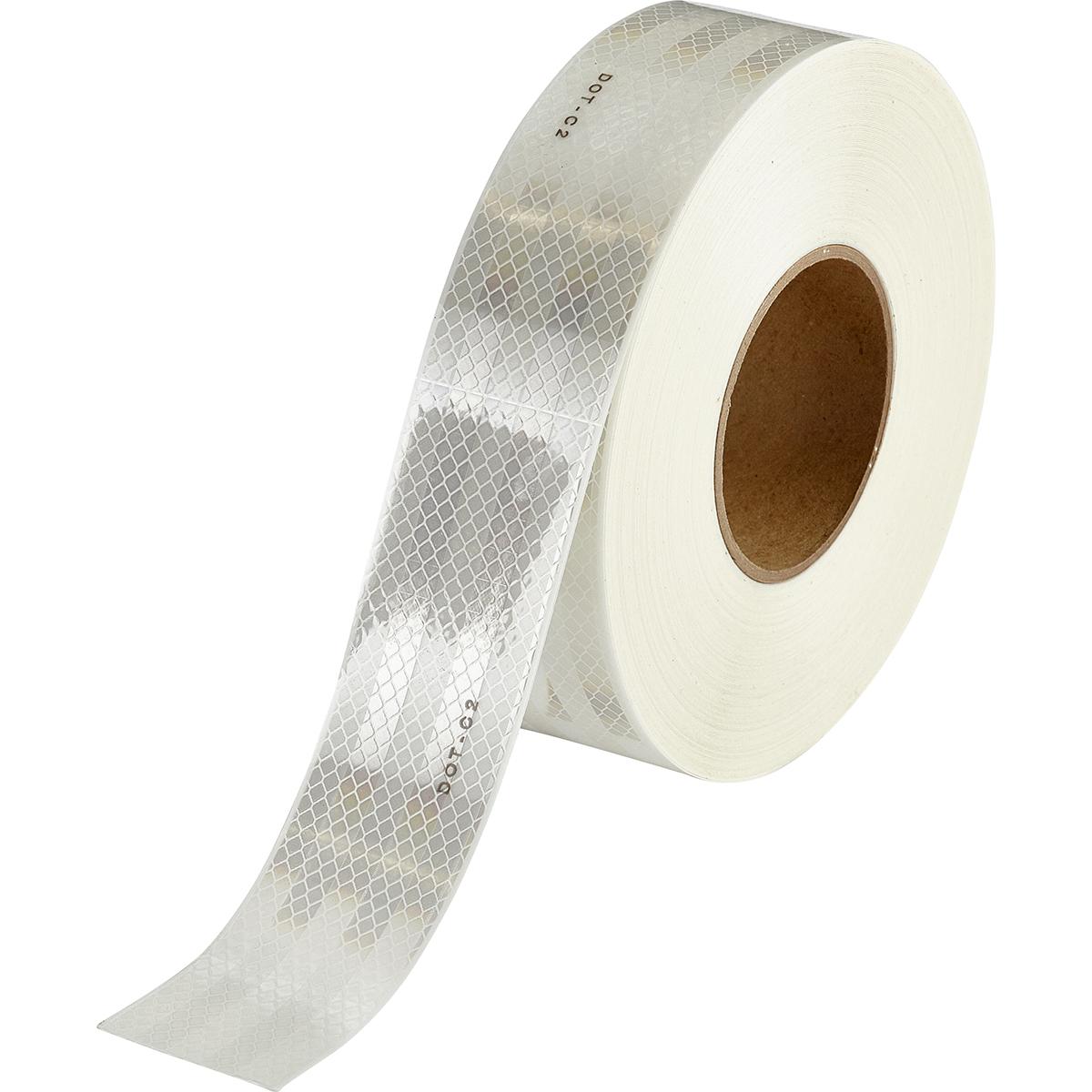 Brady® 76438 Vehicle Conspicuity Tape Kit, DOT-C2 Red/White, B-752 Sheeting