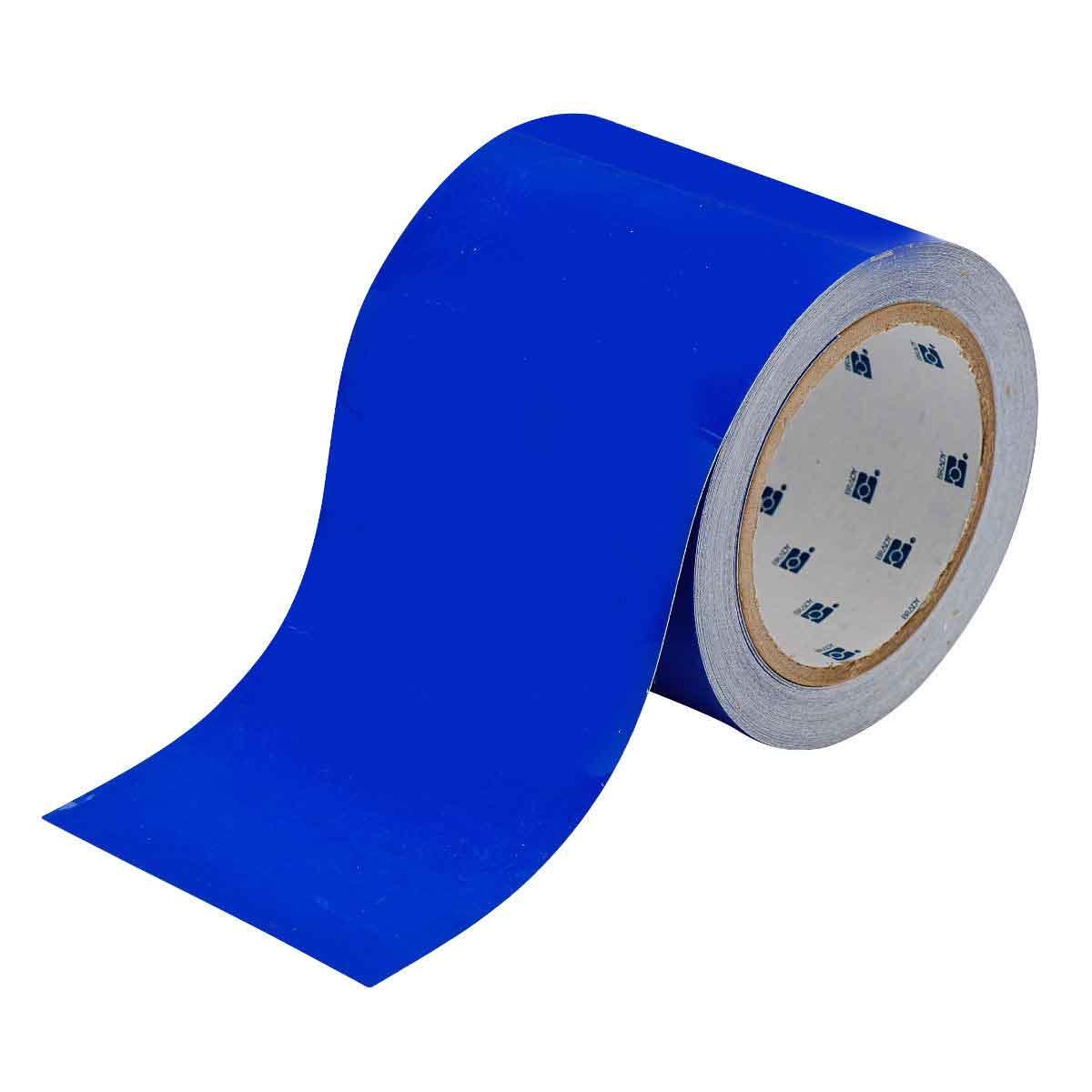 Brady® ToughStripe® 104315 Floor Marking Tape, 100 ft L x 2 in W, Green, Polyester