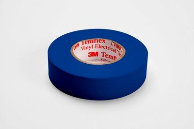 Tartan™ 054007-49659 Electrical Tape, 36 yd L x 3/4 in W, 7 mil THK, Rubber Adhesive, PVC Backing, Black